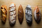 Bread's variations