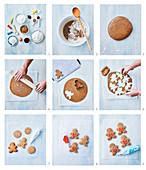 Lebkuchenfiguren backen