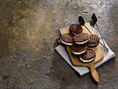Chocolate Fork Biscuits (Schokoladenplätzchen, England)