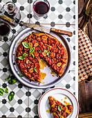 Tarte Tatin mit Tomaten (Frankreich)