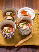 Tomato soup from Italy