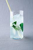Ginger and lemongrass lemonade