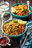 biryani rice vegetarian