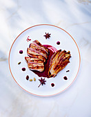 Rack of veal with caramelised chicory