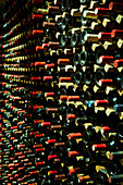 Der gut sortierte Burgunder-Weinkeller