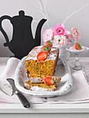 Carrot muesli cake for Easter