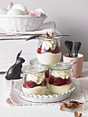 Black Forest semolina pudding for Easter