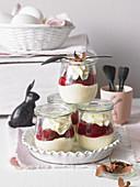 Black Forest semolina pudding for Easter