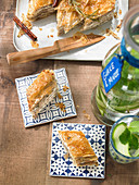 Spicy sheep's cheese baklava (Greece)
