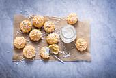 Sugar-coated chou buns