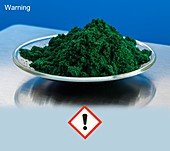 Chromium III chloride and hazard pictogram