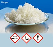 Zinc Sulphate with hazard pictograms