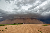 Haboob dust storm, Texas, USA