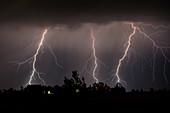 Lightning, Colorado, USA
