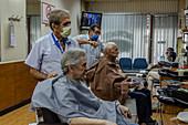 Barbershop during Covid-19 outbreak