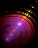 Quantum superposition concept.
