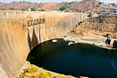 Hydroelectric dam in the Kariba Gorge
