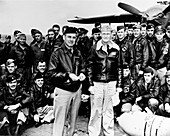 Lt. Col. James Doolittle and air crew, Doolittle Raid, 1942