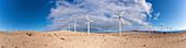Desert wind farm