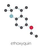 Ethoxyquin antioxidant food preservative, illustration