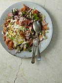 Kohlsalat mit Parmaschinken