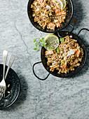Seafood Rice, Prawns