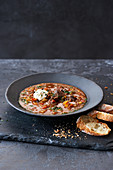 Fiery goulash soup