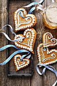 Gingerbread hearts for October Fest