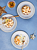 CHRISTMAS MERINGUE PIES christmas dessert