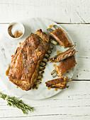Lamb rib roast