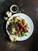 Chicken Skewer & Salad