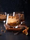 Trifle mit Feigen