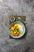 Thai Red Chicken and Coconut Curry