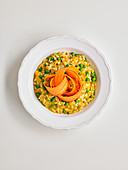 Pea and Carrot Risotto