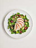 Waldorfsalat mit Geflügelbrust