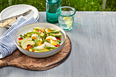 Summer potato salad with dill