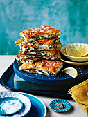 Silverbeet borek with feta