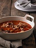 Babgulyas (Hungarian bean goulash)