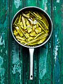 Sirup aus Ingwer und Zitronengras