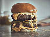 Jalapeno-Cheeseburger