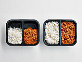 Chilli Con Carne with Rice 'To Go'