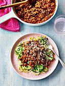 Bolognaise with lentils