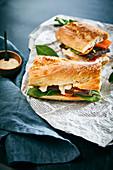 A vegan bánh mi – Vietnamese sandwich