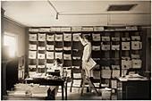 The Suffragist newspaper office