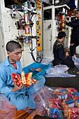 Popcorn factory, Afghanistan