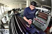 Printing factory, Afghanistan