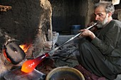 Glass blowing, Afghanistan
