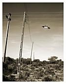 UFO sighting, 1970s