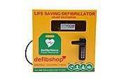 Public defibrillator