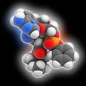 Remdesivir molecule, illustration